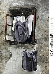 Shirts & window