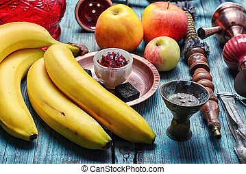 Shisha banana flavor - Traditional Arabic hookah tobacco ...