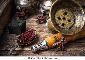Shisha hookah with anise flavor