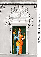 Shiva Parvathi - Ardhanarishwara God Shiva and godess...