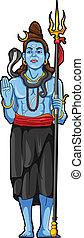 shiva, statue