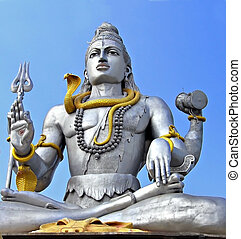 Shiva statue in Murudeswara, India