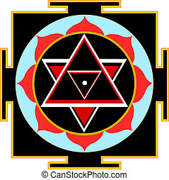 Shiva-Yantra - Saxred yantra of Bhagavan Shiva
