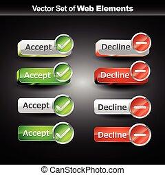 shniy web buttons