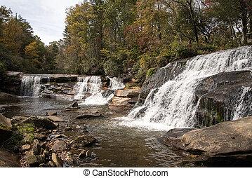 Shoal Mills Falls - French Broad Falls and Shoal Mill Falls...