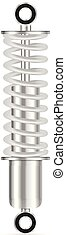 Shock absorber - Shock absorbe on a white background. Vector...