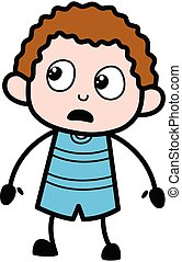 Shocked Kid Cartoon