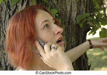 Shocking phone call