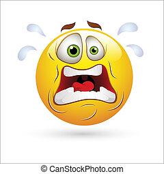 Shocking Smiley Expression Icon