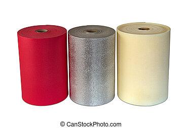 Shockproof Foam Polyethylene Material Multi Colour Rolls -...