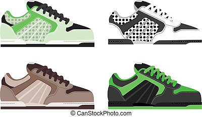 shoe. created by illustrator cs.