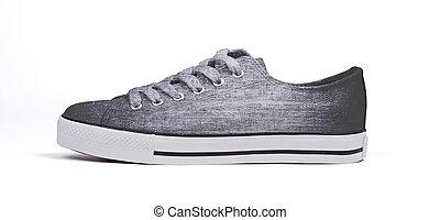 Shoe isolated on white background - Grey