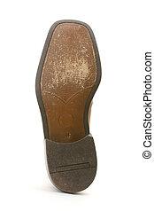 Shoe - Underside of shoe