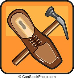 Shoe Repair Icon