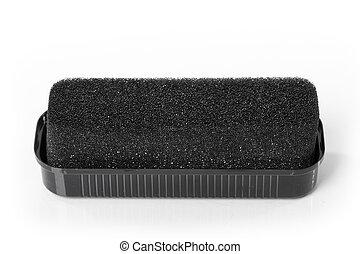 Shoe shine sponge