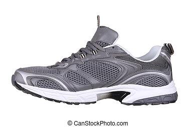 shoe., sport, vue côté