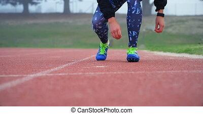 shoelace, miejsce rozprawy, sekcja, samica, ślad, atleta, ...