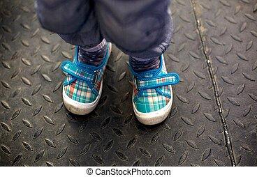 shoes, child