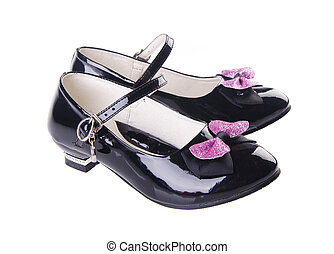 shoes for girls on background - shoes, girls shoes on the ...