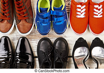 Shoes for work and recreation.