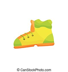 Shoes icon, cartoon style