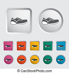Shoes icon.