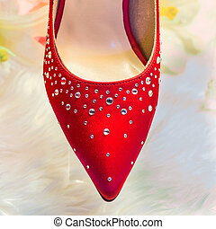 Shoes in red