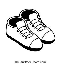 shoes isometric style icon vector design - shoes isometric ...