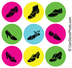 shoes vector illustration