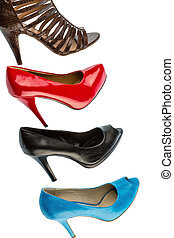 shoes with high heels