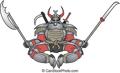 Shogun cartoon - Creative design of shogun cartoon