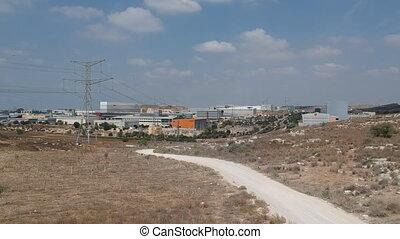 Shoham industrial area in Israel