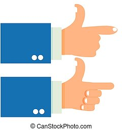 Shoot Gesture Hand