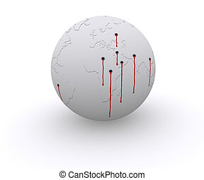 Shooted World - Leaders and politics are killing the planet...