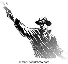 Shooter - Hand gun shooter
