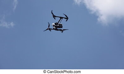 Shooting copter flight