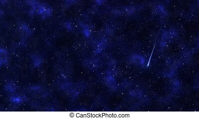 Shooting Stars - Shooting stars in the sky.