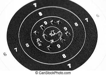Shooting target - Sport shooting circle target accuracy...