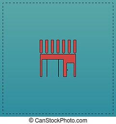 Shop computer symbol