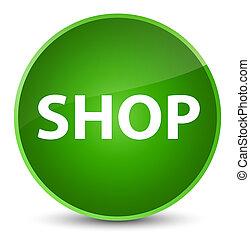 Shop elegant green round button
