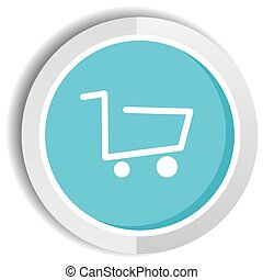 shop icon button