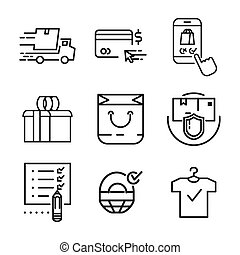 shop icon set 2