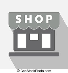 Shop Icon Vector