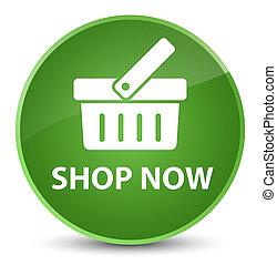 Shop now elegant soft green round button