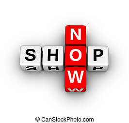 shop now icon - shop now label for online store