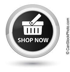 Shop now prime black round button