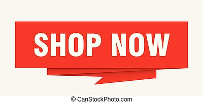 shop now sign. shop now paper origami speech bubble. shop now tag. shop now banner
