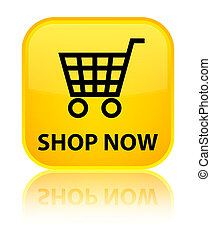 Shop now special yellow square button
