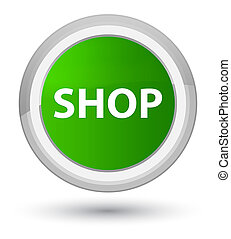 Shop prime green round button