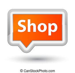 Shop prime orange banner button